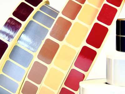 ООО Стик-Пром - окрашенные полуглянцевые этикетки самоклеящиеся для мебели ИКЕА